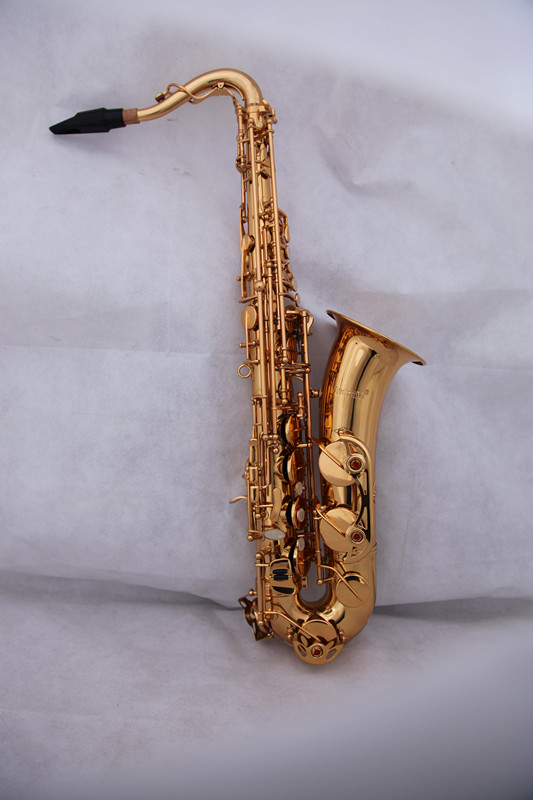 C Melody Saxophone Gold lacquer Finish With Case EMS Shipping time 8-13 days Woodwind musical instruments mini pocket sax alto c tune mini black little saxophone xaphoon woodwind musical instruments