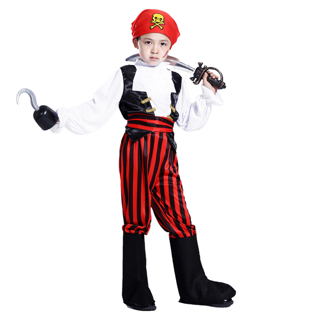 free shipping halloween costume pirate captain south africa little