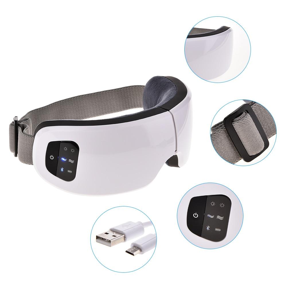 Masseur oculaire anti poches et Bluetooth