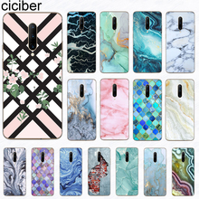 ciciber Phone Case Coque for Oneplus 7 Pro 6T 5T 6 5 Case Soft TPU Colorful Texture Marble Cover for 1+7 Pro 1+6T 1+5T 1+5 1+6 цена