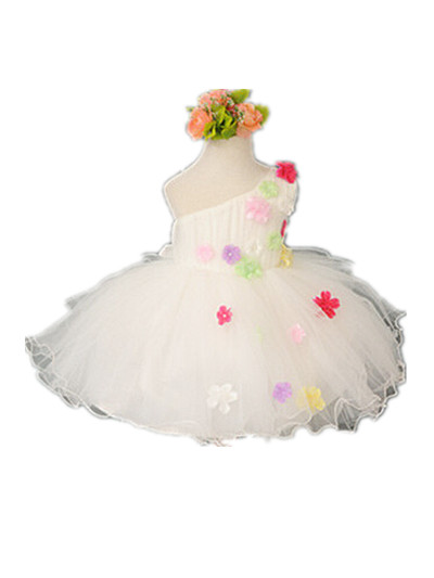 BABY WOW Flower Girl Dresses for Weddings Baby Clothes 1 Year Birthday Dress for Baby Girl