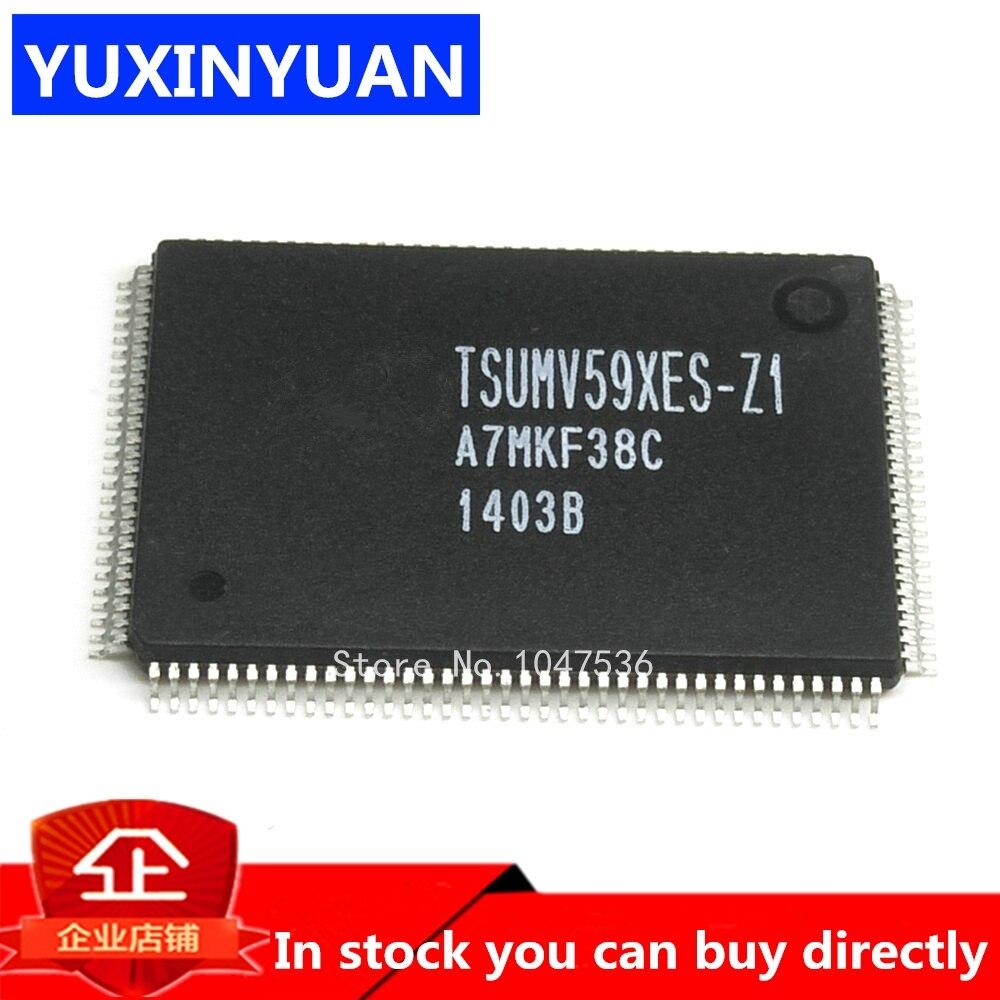 In Stock TSUMV59XES-Z1 TSUMV59XES TSUMV59 QFP LCD CHIP 1PCS