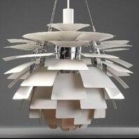 Кулон освещение для ресторанов D48CM современные подвесные светильники Спальня Алюминий Италия PH5 шишка, дизайн лампы, подвесные светильники