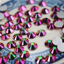 ФОТО new rainbow rose gold non hotfix crystal rhinestones for nails art decoration flatback glue on strass stones diy crafts garments