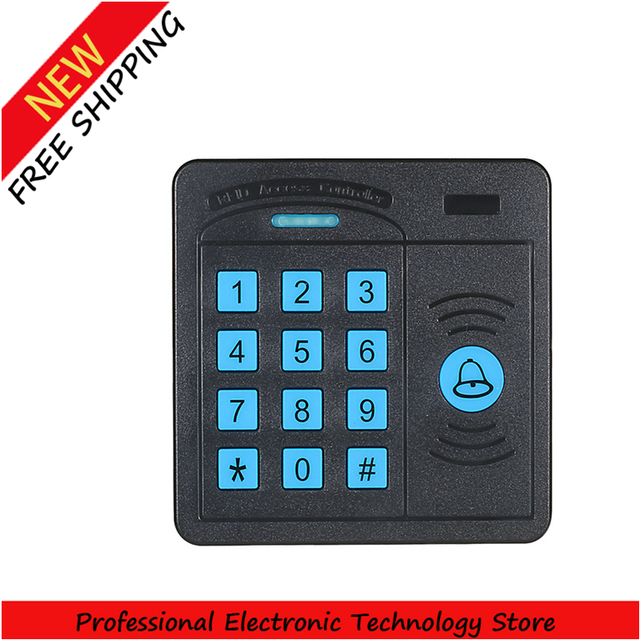 Controlador de Controle de Acesso porta ABS Caso Teclado Leitor RFID