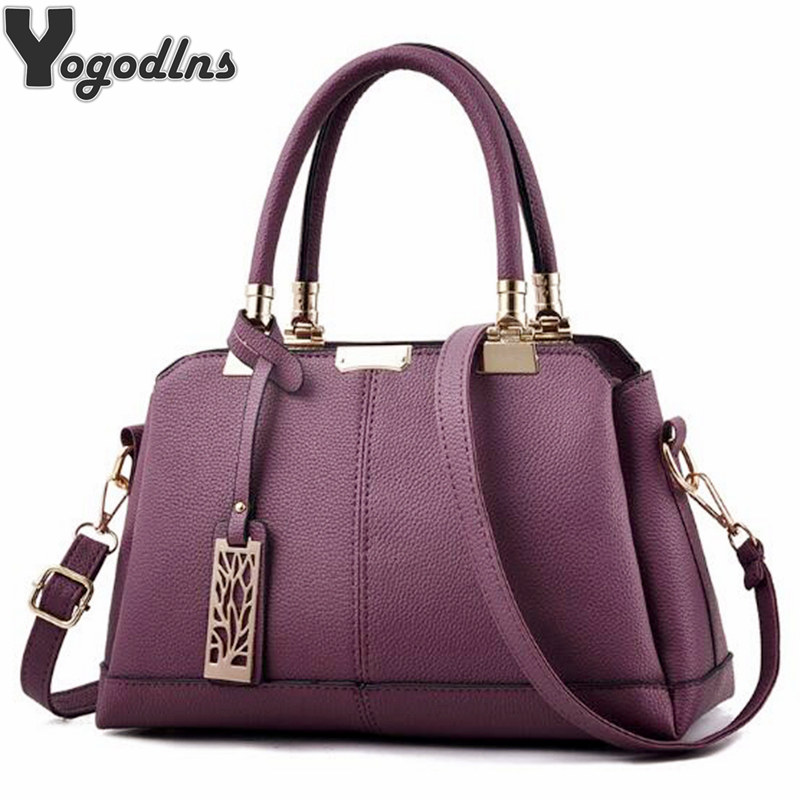 Heißer Verkauf Leder Frauen Tasche Äste Metall Decor Handtaschen Dame Schulter Umhängetasche Messenger Bag Weibliche Geldbörse Tote