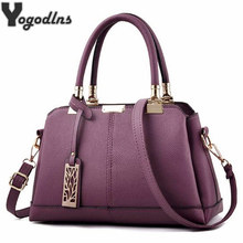 Hot Sale Leather Women Bag Tree Branches Metal Decor Handbag