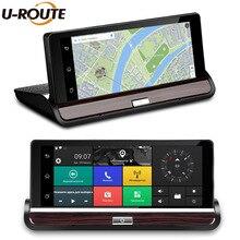 7 «IPS 3 г Wi-Fi Видеорегистраторы для автомобилей Камера Android 5.0 GPS навигации видео Регистраторы Bluetooth Двойной объектив видеокамер регистраторы Full HD 1080 P