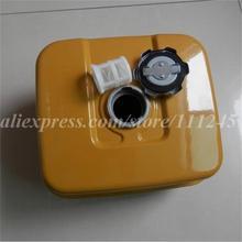 EX27 топливный бак в сборе для SUBARU 9HP 265CC 4 тактный бензиновый с топливный фильтр& металлических крышках