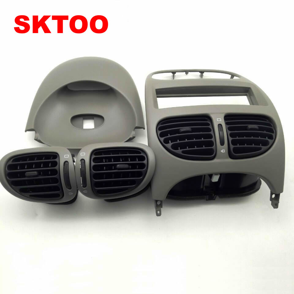 Zonnig Sktoo Voor Peugeot 206 Citroen C2 Instrument Panel Outlet, Airconditioning Outlet Mooie Glans
