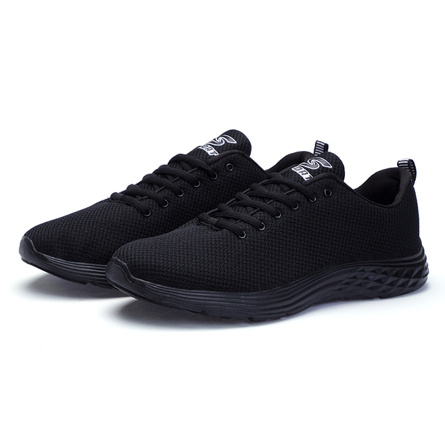 New Mesh Couple Casual Shoes Lace-up Lightweight Comfortable Breathable Walking Sneakers Zapatillas Hombre