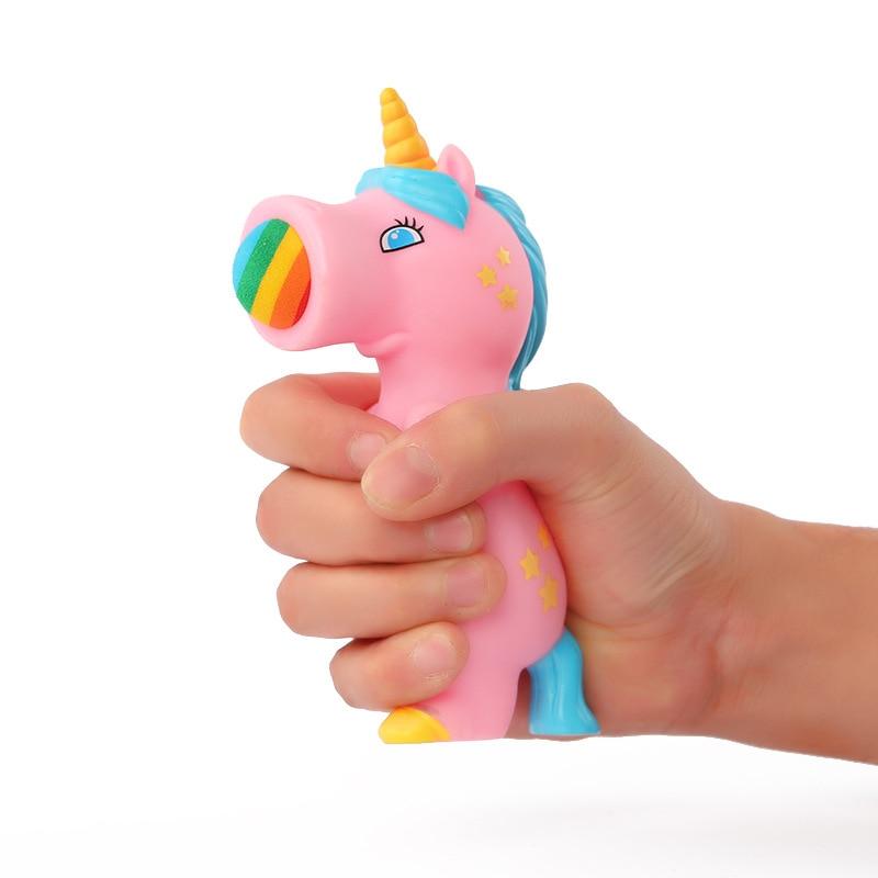 Squeeze Popper Unicorn Assorted Blaster