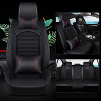 Kalaisike кожа плюс льна универсальные чехлы сидений автомобиля для Dodge всех моделей калибра путешествие ram караван aittitude Авто стиль