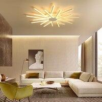 Modern led ceiling chandelier light abajour luminaria luster avize lutre ledlamp for dining living room bedroom kitchen