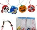 Diferente Estilo de la Historieta Led de Halloween Collar Colgantes Luminosa Intermitente Collar de Light Up Toy Party Decoration Supplies YH218