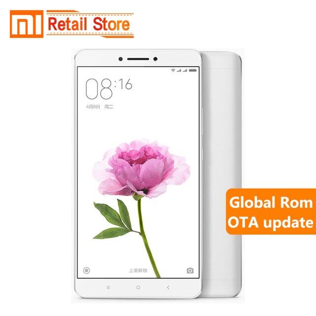 """Оригинал Xiaomi Mi Max Pro Prime 4 Г RAM 128 Г ROM Snapdragon 652 Окта основные Мобильный Телефон 16.0MP Камера 6.44 """"1920X1080 P 4850 мАч"""