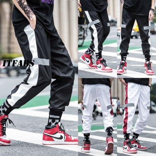 2018 New Men Running Pants Soft Sport Pants Jogging Pants Gym Trousers Training Sweat Loose Straight Sportswear