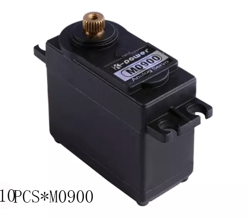 10pcs K-power M0900 10KG High Torque Full Metal Gear Waterproof Analog  Micro Servo FOR RC robot/airplane/car/boat/Landing skid