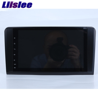Liislee Мультимедиа стерео проигрыватель автомобильный навигатор gps для Mercedes Benz ML Class W164 ML350 ML430 ML450 ML500, Wi Fi, FM, нет компакт дисков DVD
