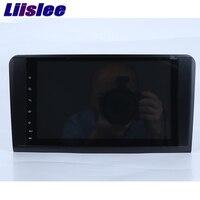 Liislee Multimedia Stereo Player Car Navigation GPS For Mercedes Benz ML CLASS W164 ML350 ML430 ML450
