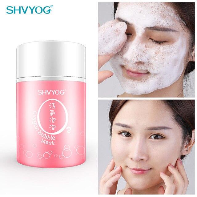Oxygen Bubble Mask For Facial Sheet Masks Bubbles Korean Detox Face Cleansing Shrink Pores Oil Contro Remove Blackhead Skin Care