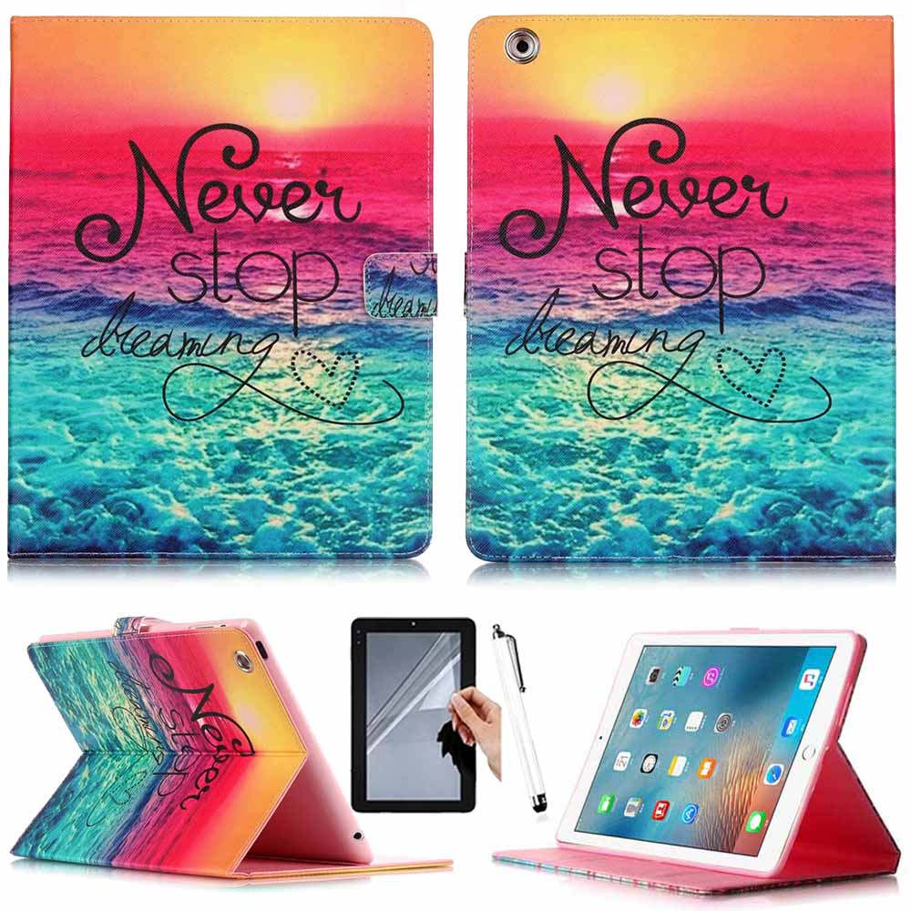High Quality Painted Stand Flip Leather Tablet Case For iPad 2 iPad 3 iPad 4 Case For Apple iPad 2 3 4 Smart Case Tablet Cover 360 degrees rotating pu leather cover case for apple ipad 2 3 4 case stand holder cases smart tablet cover a1395 a1396 a1430