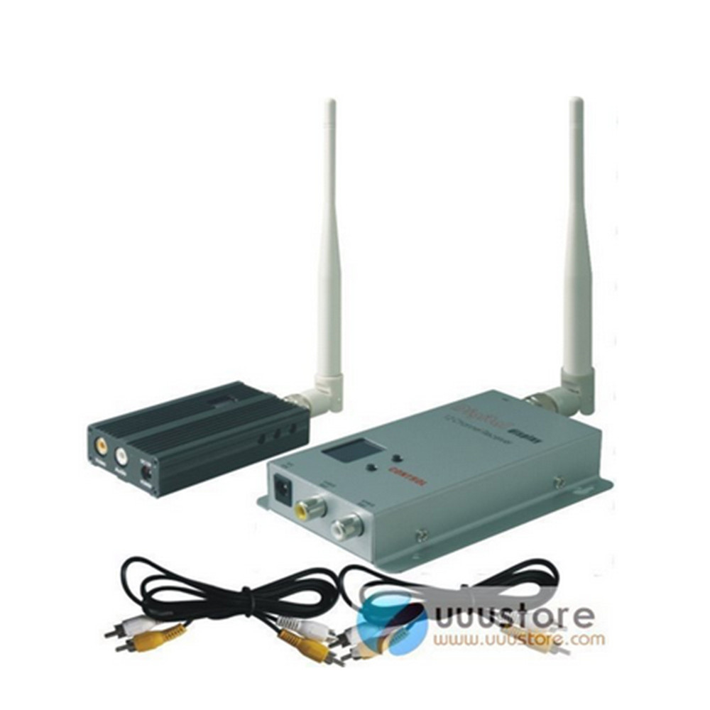 FPV 1.2G 1.2GHZ 2500mW  8Channel Wireless Tranmsitter and 12 Channel Receiver Professional Kit ZMR250 QAV280 QAV250 DRONE boscam dv01s fpv 8 channel 5 8g wireless receiver dvr wireless audio