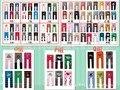 Младенцы брюки 18 pairs/lot милый брюки для детей лето модель полипропилен брюки младенцы трикотажные брюки малыш