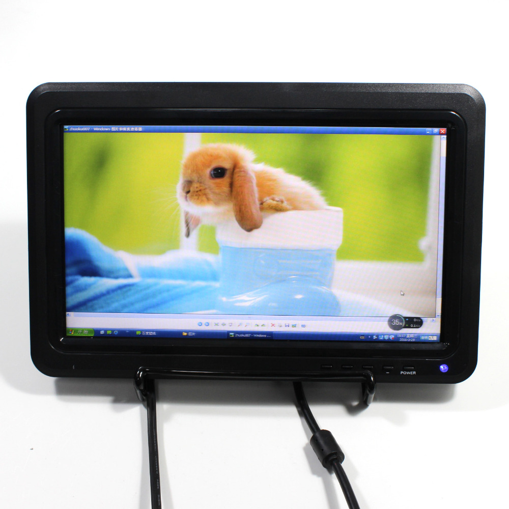 10.1 USB Multi-media Player TFT lcd HDMI VGA AV RF PAL 1366x768 lcd monitor 10.1 USB Multi-media Player TFT lcd HDMI VGA AV RF PAL 1366x768 lcd monitor