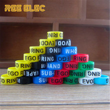 REE ELEC 14mm*7mm Vape Bands Silicon Rubber Decoration Rings Vape Pen Accessories Protection Band