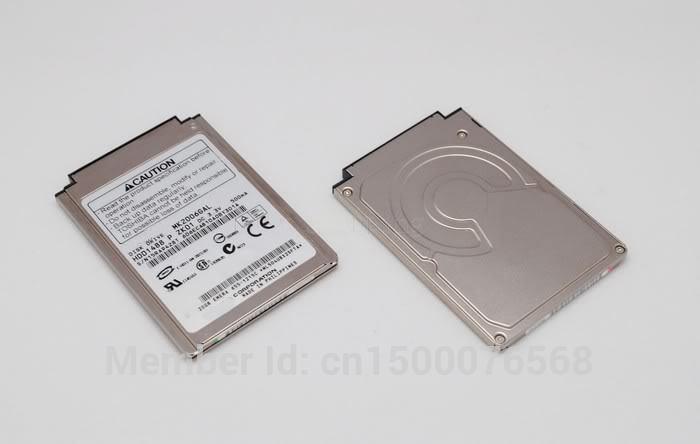 "1.8 ""CF / PATA 20GB Μονάδα σκληρού δίσκου MK2006GAL για φορητό υπολογιστή IPOD Gen3 Gen4 R100 R200 ss2000 repalce MK2004GAL MK4007GAL mk3006gal"