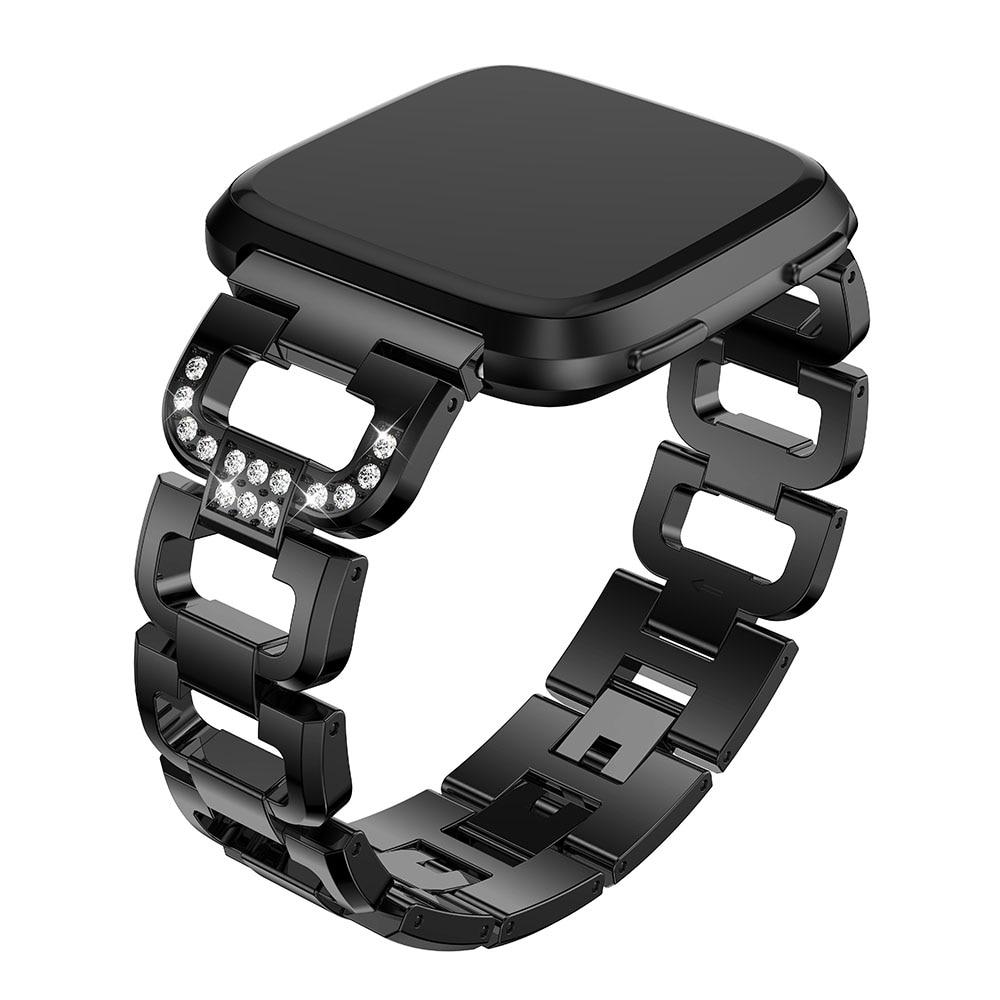 Nehrđajući čelik Band za Fitbit Versa Smart Watch Ručni satovi s - Pametna elektronika - Foto 2