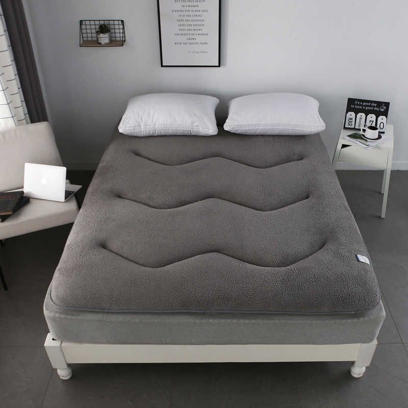 Slow Tree Tatami Mattress Thickened Bed Carpet Double Floor for Living Room Sleeping Mat Folding Mats Lazy Cushion 6cm thickness