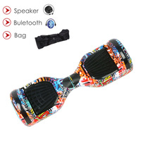 Hoverboard Self Balance Scooter Electric Hoverboard 6 5 Inch Two Wheel Electric Scooter Gyroscooter Bluetooth Speaker