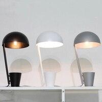 X Nordic современный минималистский творческая личность Гостиная Спальня ночной исследование настольная лампа гладить шляпа огни W20 * h40 * D12cm