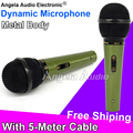 Professional Quality Handheld Wired Microphone Dynamic Mic For Karaoke Computer PC KTV Stage Singer Mikrofon Microfono Microfone