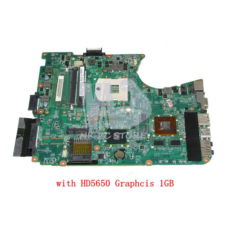 NOKOTION DABL6DMB8F0 A000076400 MAIN BOARD For Toshiba Satellite L655 Laptop Motherboard HM55 DDR3 HD5650 Video card nokotion genuine h000064160 main board for toshiba satellite nb15 nb15t laptop motherboard n2810 cpu ddr3