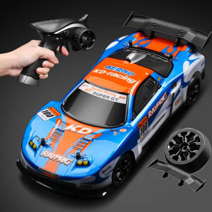 50 Km/h Rc Auto 1:18 Schaal 4X4 Hoge Snelheid Drift Rc Racing Auto Afstandsbediening Vrachtwagens Speelgoed Voertuig voor Kinderen Ondersteuning Verbouwen