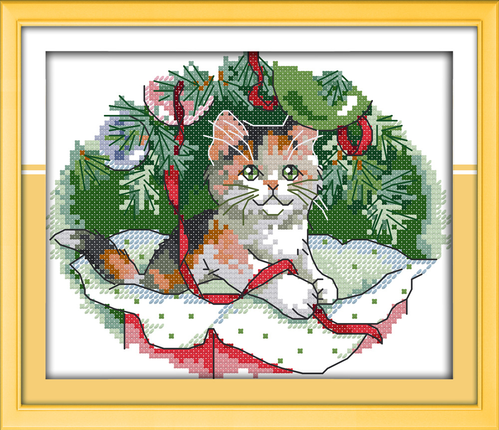 Counted Cross Stitch Christmas Kits