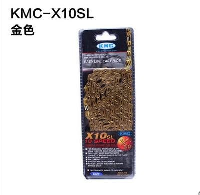 Kmc z99 x8 x9 l 10l mountain bike bicycle chain 8 9 10 11 chain X10/X10l/X10SL speed change chain свитшот pinko 1g134u y49t z99
