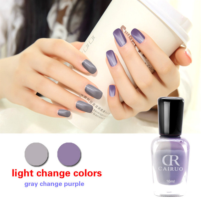 Light Changeable Nail Gel Polish Unhas De Varnish Glue Vernis Color Changing