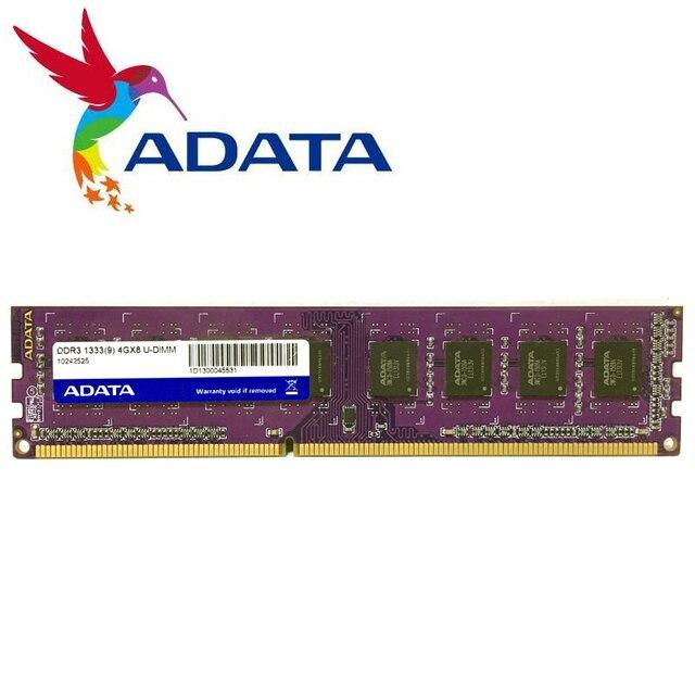 ADATA PC Memory RAM Memoria Module Computer Desktop DDR3 2GB 4GB 8gb PC3 1333 1600 MHZ  1333MHZ 1600MHZ 2G DDR2 800MHZ 4G 8g