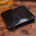 First layer cowhide leather  soft surface male shoulder bag genuine leather men's messenger bag brief case