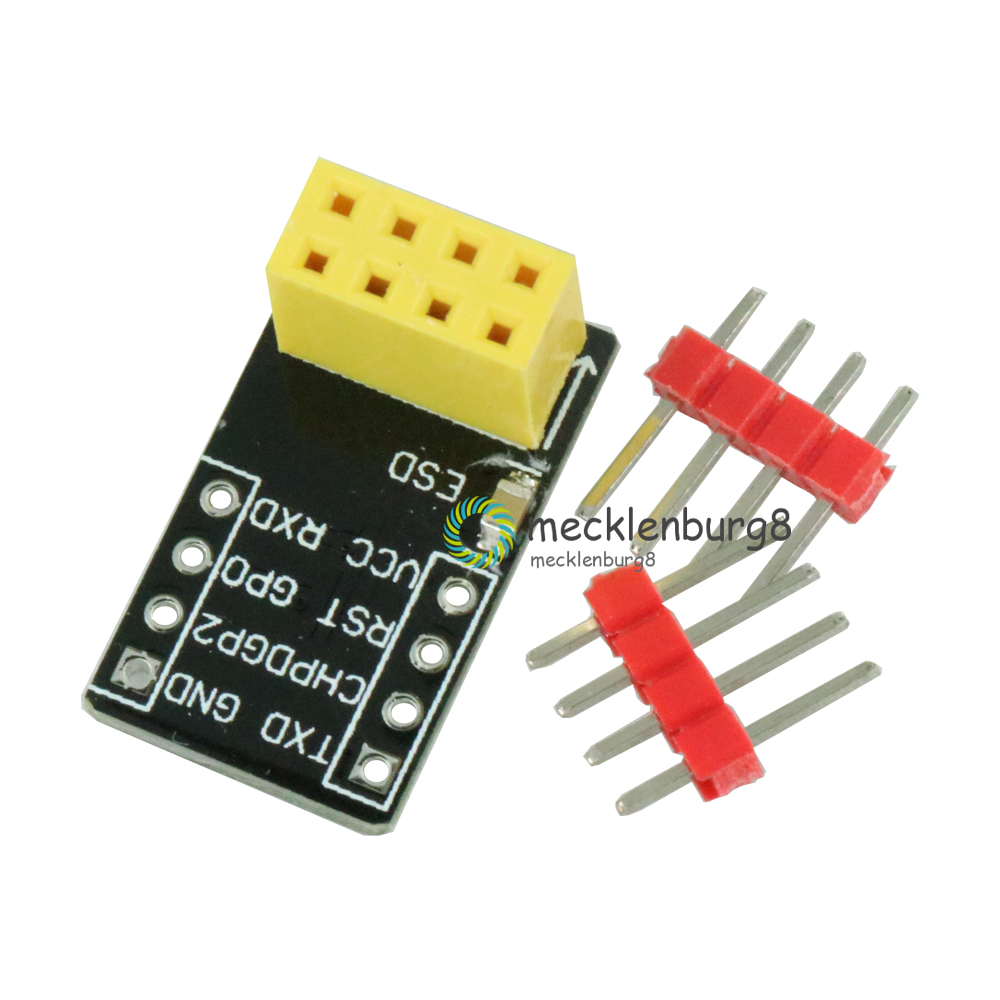 1 PC. For ESP-01 Esp8266 ESP-01S Model ESP8266 Serial PCB Layout Adapter For Serial Wifi Transceiver Network Module