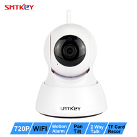 Wireless P2P 720P WIFI IP Camera Security IR 10M Night Vision Two Way Audio CCTV Surveillance