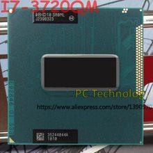 Оригинальный процессор Intel Core, процессор SR0ML, процессор I7 3720QM, 2,6 ГГц, 6 м, четырехъядерный процессор, бесплатная доставка, поддержка HM75, HM77