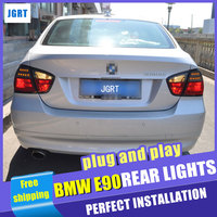 car styling For BMW E90 taillight assembly 2005 2008 for E90 rear lights dedicated car light led taillight light with 4pcs.
