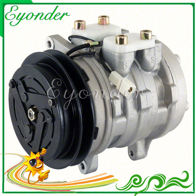 10P08E AC A/C Compressor Cooling Pump PV1 12V for KUBOTA Heavy Duty Tractor M8200 M9000 U35-S2 DT-HSTC 4472007443 447200-7443 дырокол deli heavy duty e0130