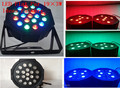 10pcs/lot 2015 New Par Light LED Wash Par SlimPar 19x3W RGB Stage Wedding Lighting LED DJ DMX 3/7 Channels Uplighting