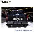 Автомобильные наклейки Longhorn Hilux 900 мм  графические виниловые наклейки для TOYOTA HILUX  наклейки  детализирующие наклейки  аксессуары для стайлин...
